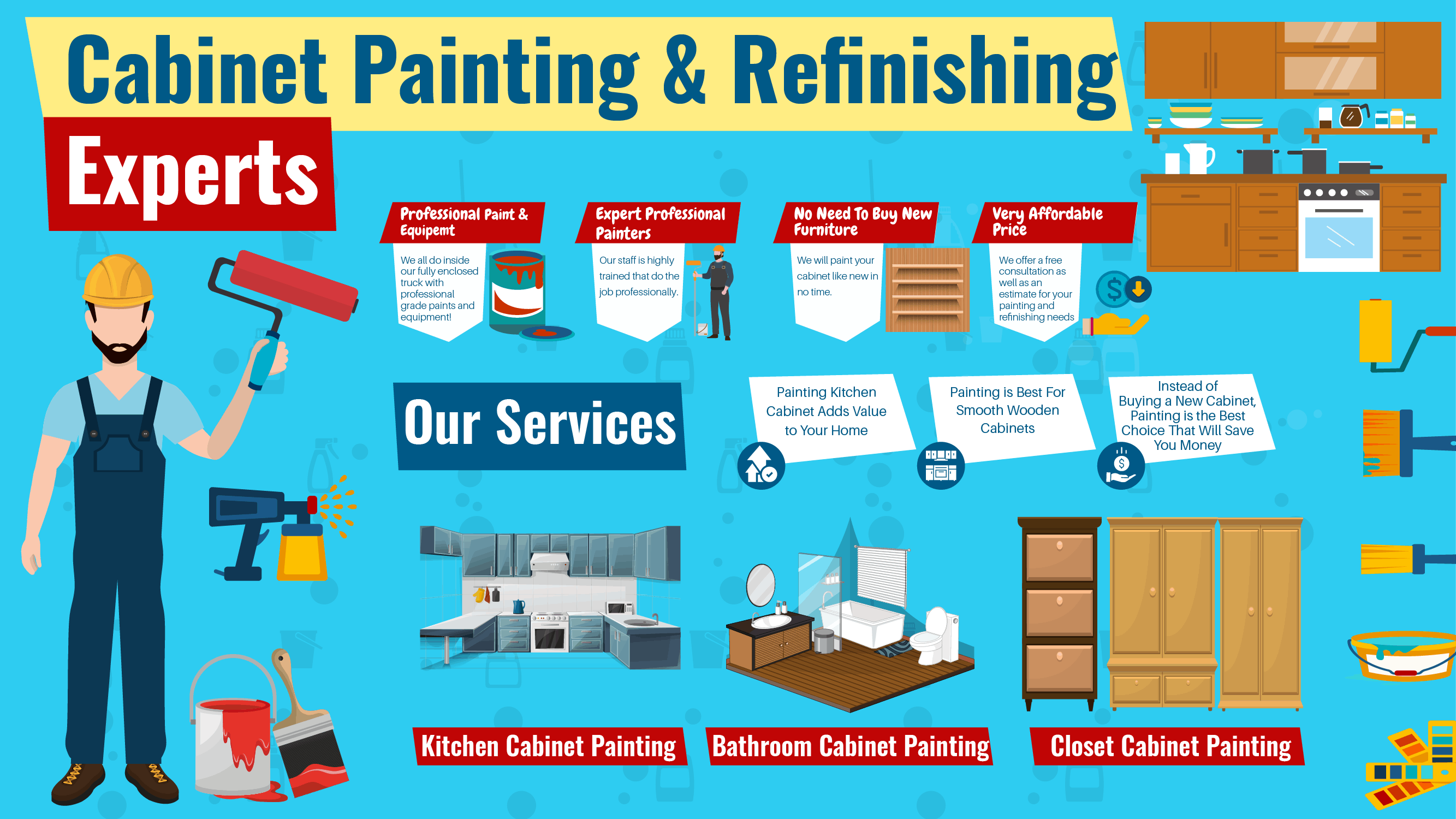 kitchen cabinet painting tampa fl